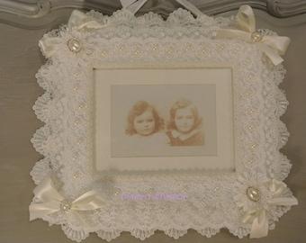 frame romantic shabby