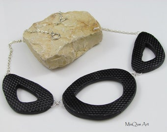 Black Necklace Statement Necklace