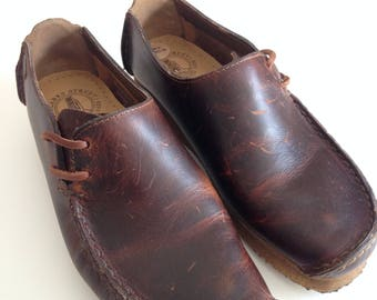 Vintage Clarks Originals - Wallabees - Lugger- style - Size 38