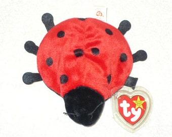 Miraculous Ladybug, Nature, Gift For Her, Ladybug, Stuffed Animal, Plushie, Ty Beanie Babies, Baby Shower, Baby Gift, Nursery Decor