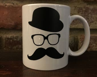 Fancy Mustache Coffee Mug