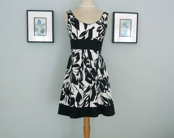 Summer Dress, Sleeveless Dress, Cotton Dress, Party Dress, Floral Dress, Prom Dress, Garden Party Dress, Womens Dresses, Mini Dress