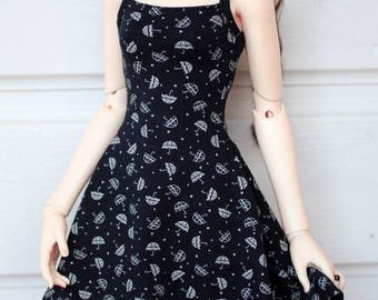 Casual jersey dress -for 1/3 SD bjd (colour selection)