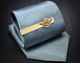 Pince à cravate neuf Star Wars - 2018 barre bois d'érable YODA