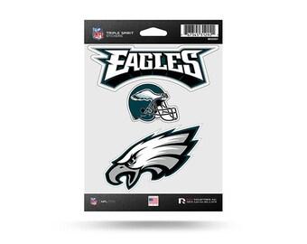 Philadelphia Adler NFL 3 Pack Aufkleber