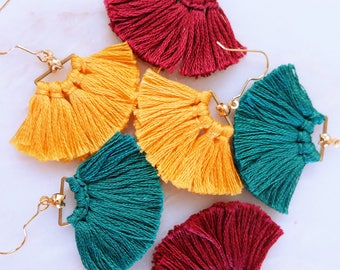Aria Tassel Earrings