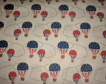 Storybook Hot Air Balloons White by Windham