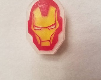 Iron Man inspired pin