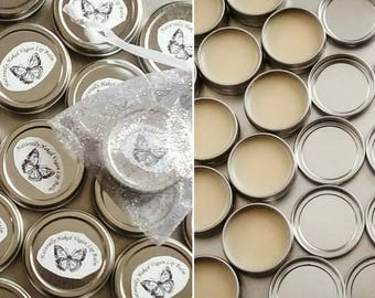 Naturally Naked Vegan Lip Balm! Only THREE Ingredients! The Most Basic of Lip Balms!