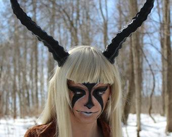 Ibex Horns, Adjustable on Headband