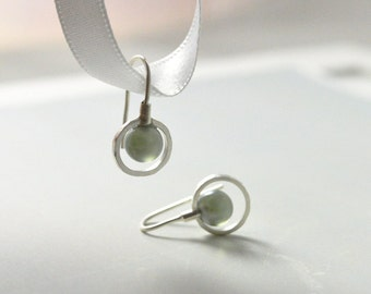 Silver Earrings, Gifts for Women, Gray Earrings, Modern Drop Earrings, Australian Jewellery, Silver Jewellery, FREE Shipping