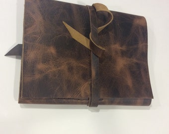Portfolio Case/Brown Leather Portfolio Case/Legal Pad Holder