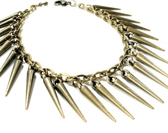 Industrial Chic Fight or Flight Brass Bracelet. FAST Shipping w/Tracking for US Buyers. Gift Box & Cute Ribbon Incl. Ready for Gift Giving.