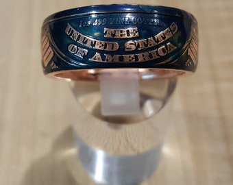 The United States Of America Coin Ring