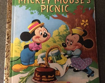 Little Golden Book: Mickey Mouse's Picnic 1950.