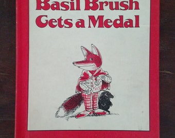 Basil Brush Gets a Medal, Vintage Childrens Book