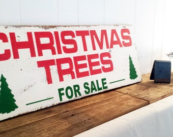 Farmhouse Style Joanna Gaines 17.25 x 48 Christmas Trees For Sale Wood Sign Wall Decor Fixer Upper Decor Christmas Gift For Her