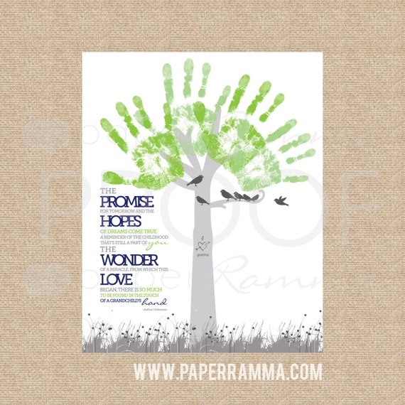 Instant Download You Personalize Diy Gift For Grandparents