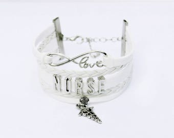 Nurse Bracelet   Nurse Jewelry   Nursing Student Gift   Nursing Graduate Gift   Nurse Gift   Nurse Appreciation Gift   Nurse Graduation Gift