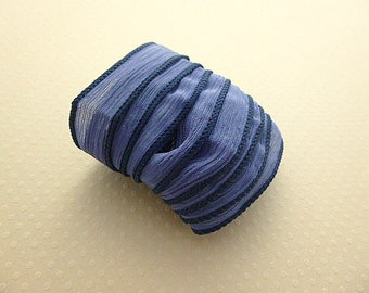 Ribbon color No. 953 hand dyed silk