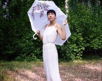 Hand painted Automatic Umbrella Art umbrellas