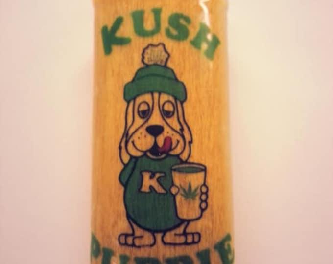 Kush Puppie Kush Puppy Lighter Case, Lighter Holder, Lighter Sleeve Pot Weed, Marijuana, Ganja