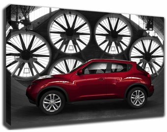 NISSAN JUKE Canvas/Poster Wall Art Pin Up HD Gallery Wrap Room Decor Home  Decor