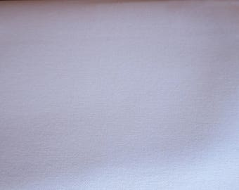 "Duck Canvas 9-10oz 58/60"" 100% Cotton  - White"