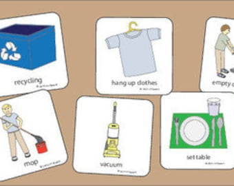 Chores Collection Picture Cards