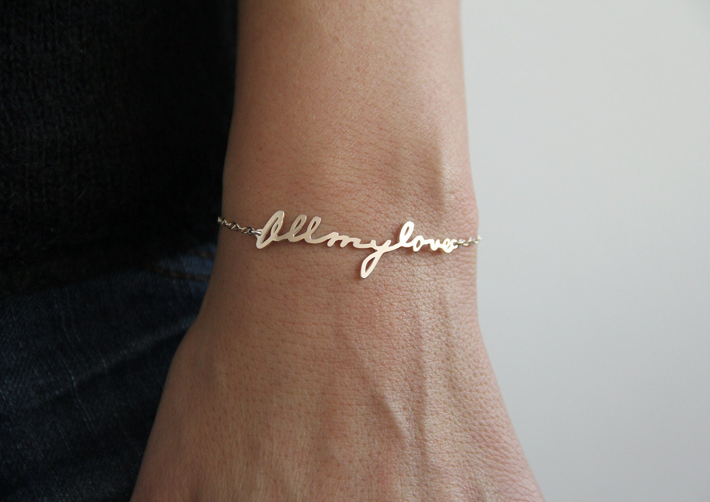 bracelet word expandable in collections bellaryann bangle words charm grace silver amazing