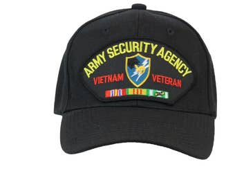 Army Security Agency Vietnam Veteran Cap