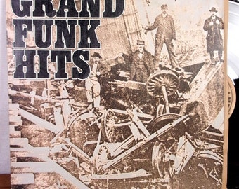 Grand Funk Railroad Grand Funk Hits LP Capitol + Inner 1st USA press superb EX!!