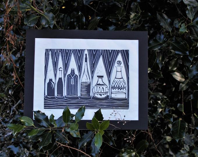 Bottles Print