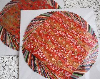 Japanese Finest Yuzen Washi Origami Paper Pack - 40 Sheets Assortment - 15cm