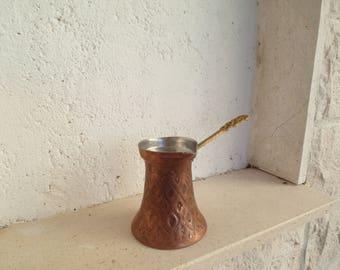 Bosnian Copper Coffee Pot