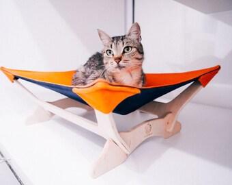 Cat hammock, Hammock for cats, Сat hammock bed, Cat hammock orange, cat bed, Cat furniture Cat bed furniture, hammock cat Furniture for cats