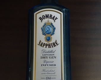 Bombay Sapphire London Gin Cigar Tray, Recycled Bottle