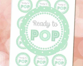 Ready to Pop Stickers Mint 2
