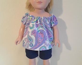 18 Inch Girl Doll Outfit #175