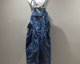 Vintage Guess Overalls Womens Size 3 Pleated 80s 90s