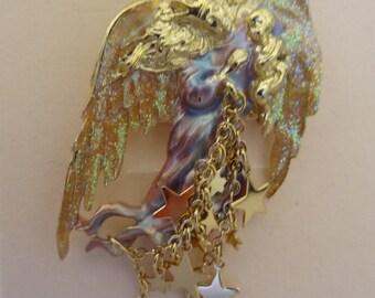 MIB Beautiful KIRK'S FOLLY Mother's Angel Pin