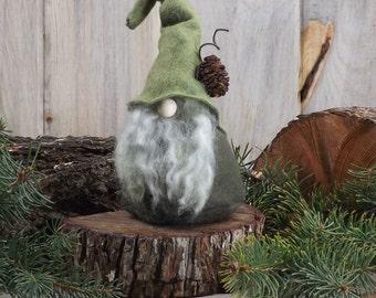 Rustic Wizard Nordic Gnome, Scandinavian Gnomes, THORNE, Nordic Gnomes, Wizard, Gnome Home, Tomte, Nisse, Elf, Elves, Elfin, Make-Believe