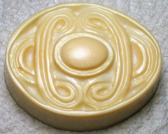 Celtic Soap, Oval Soap Bar, Novelty Soap, You pick scent & color