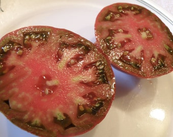 Black Krim Tomato Seeds, Heirloom Tomato Seeds, Organically Grown Tomato Seeds