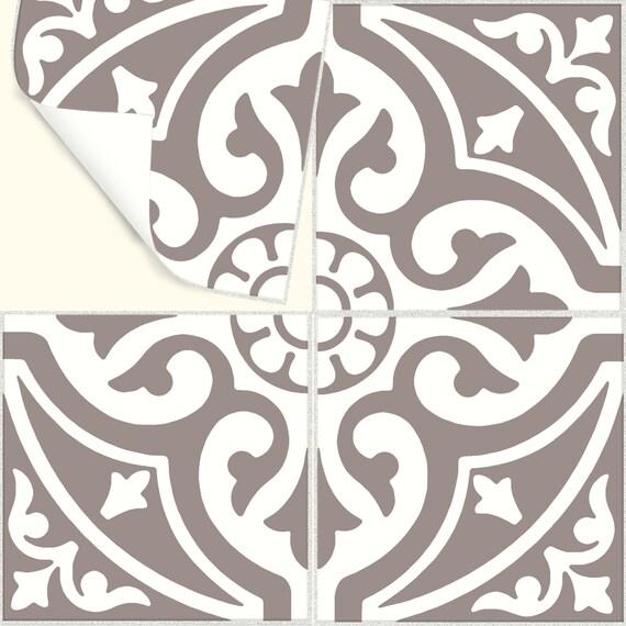Sticker di piastrelle per cucina bagno pavimento parete for Stickers per mattonelle bagno
