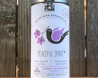 0435 Peaceful Spirit tea 15bag tin