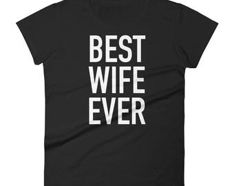Unique-gift-for-wife, Best wife christmas gifts, Best Wife Ever, Wifey Shirt, Best wife gifts, Gift For Wife, Wife Shirt, Gift for her