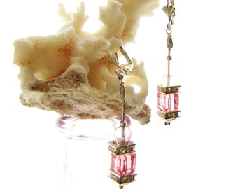 Sold. Earring with Swarowski crystal