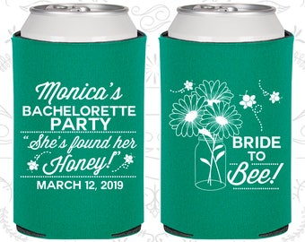 Floral Bachelorette Party Ideas, Personalized Bachelorette Party Decorations, She found her Honey, Bride to Bee, Bachelorette Ideas (60152)