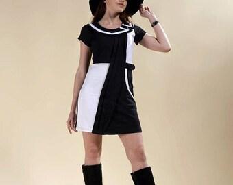 dress sixties Emma Peel